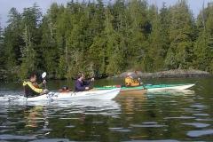 ジョン、ダン、村田。 3人がはじめて揃って漕いた 記念の日