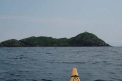 途中の七ツ島で休憩。*七ツ島は許可がないと上陸できません。後になって知りました。