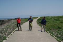 舳倉島は標高が12mしかありません。