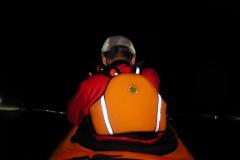 三浦半島を夜8時に出発