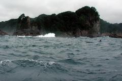 地元のカヤッカー、加藤さんも一緒に漕ぎました