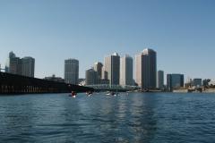 豊洲運河から眺める